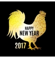 Fire Rooster Symbol of vector image vector image