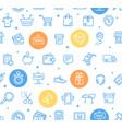 ecommerce online service pattern background vector image