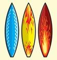 Surf daska resize vector image