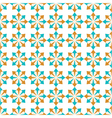 seamless geometric pattern of abstract elements vector image