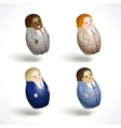 set of an office workers vector image vector image
