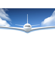 Airplane Realistic Poster vector image