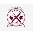 Butcher Shop Design Elements Labels Badges Logo vector image