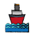 cruise icon image vector image