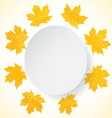 Happy Thanksgiving invitation vector image