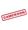 Cameroon Rubber Stamp vector image