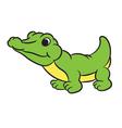 krokodile vector image vector image