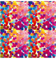 pattern of colored squares vector image vector image