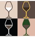 WineGlassVariations vector image