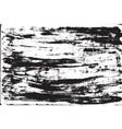 Grunge background brush strokes of black paint vector image