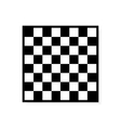 Chess board icon vector image
