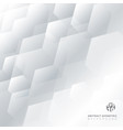 abstract technology gray and white geometric vector image
