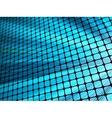 Blue rays light 3D mosaic EPS 10 vector image