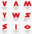 Pharmacy logo vector image