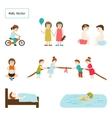 Kids Elements vector image