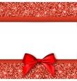 Invitation decorative card template vector image