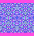 purple blue pattern ornament vector image