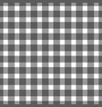 seamless black colored checkered table cloth vector image vector image