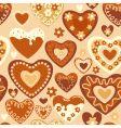 sweet hearts vector image vector image