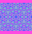purple blue pattern ornament vector image
