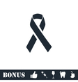 AIDS icon flat vector image