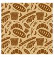 bread pattern vector image