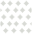 Gray rural geometric elements on the white vector image