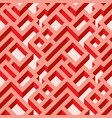 isometric seamless maze pattern vector image
