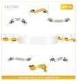 modern and classic ribbons set vector image