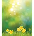 Spring back vector image