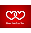 Stylish Hearts Composition vector image vector image