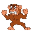 Angry monkey 2 vector image