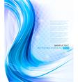 Elegant blue background vector image vector image