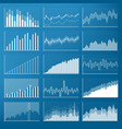 creative of business data vector image