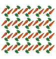 carrot design seamless pattern vector image