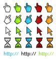 pixel graphic pointers vector image