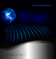 Abstract global background vector image