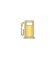 petrol station computer symbol vector image