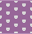 tile pattern with cats on pastel background vector image