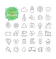 sipmple icons collection web and mobile app vector image