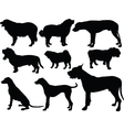 dogs collection 2 - vector image