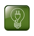Think green energy vector image