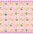 funky retro background vector image vector image