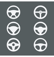 handlebars icons for cars vector image