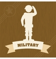 Armed forces design vector image