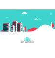 city header vector image