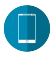 smartphone mobile communication technology shadow vector image