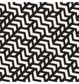 Seamless Geometric ZigZag Diagonal vector image