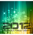 2012 new year celebration vector image