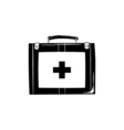 First aid kit icon Medical symbol for your web vector image